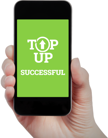 Top-up successful