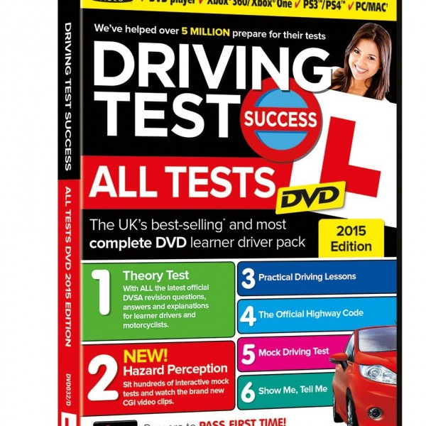 DVD/MAC – Driving Test Success All Tests 2015 Edition